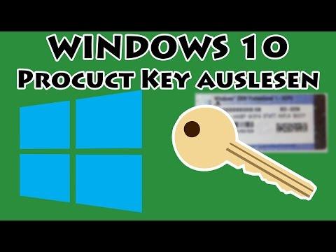 Window 10 product key auslesen weitere office keys for Window 10 product key