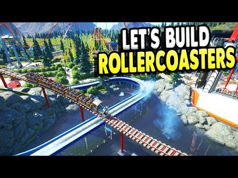 Rollercoaster Simulator 2018 Big Ultra Builds | Planet Coaster Gameplay