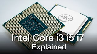 Intel Core i3 vs i5 vs i7 Processors - Explained