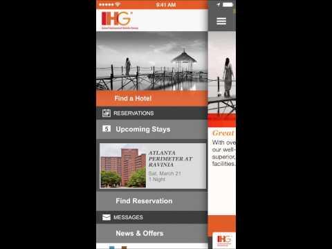 IHG® - Hotel Booking, Reservations & Deals (30 Sec)