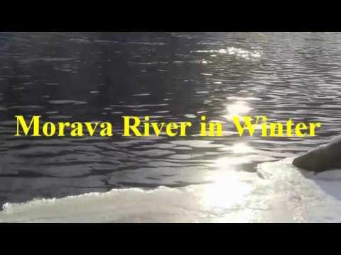 Morava River in Winter