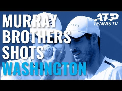 Best Murray Brothers Shots in First-Round Win | Washington 2019