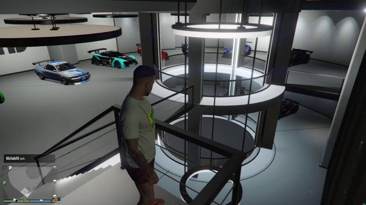 Gta V New Garage Light Youtube