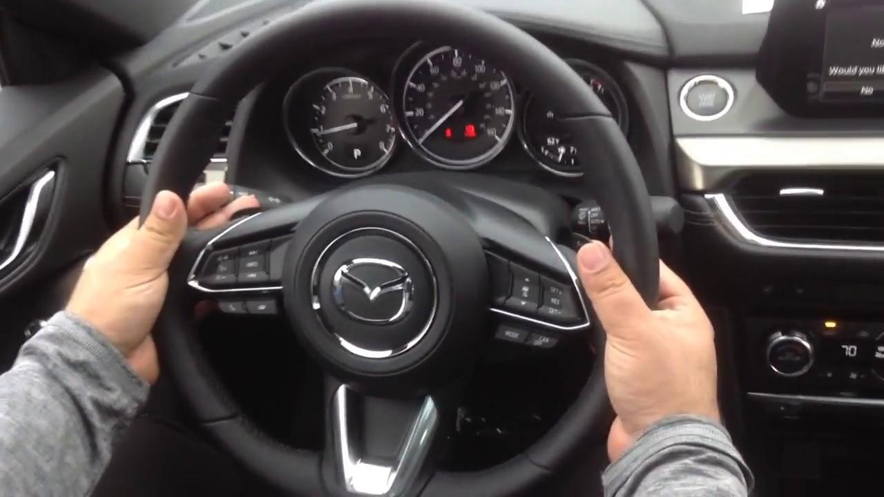 2017 Mazda6 Interior Demonstration