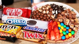 ГОТОВИМ ТОРТ ИЗ OREO, KITKAT, SNICKERS, MARS, TWIX, M&M'S, NUTELLA | SWEET HOME