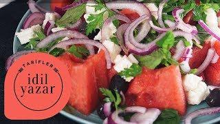 Karpuz & Peynir Salatası - Yemek Tarifleri - İdil Tatari