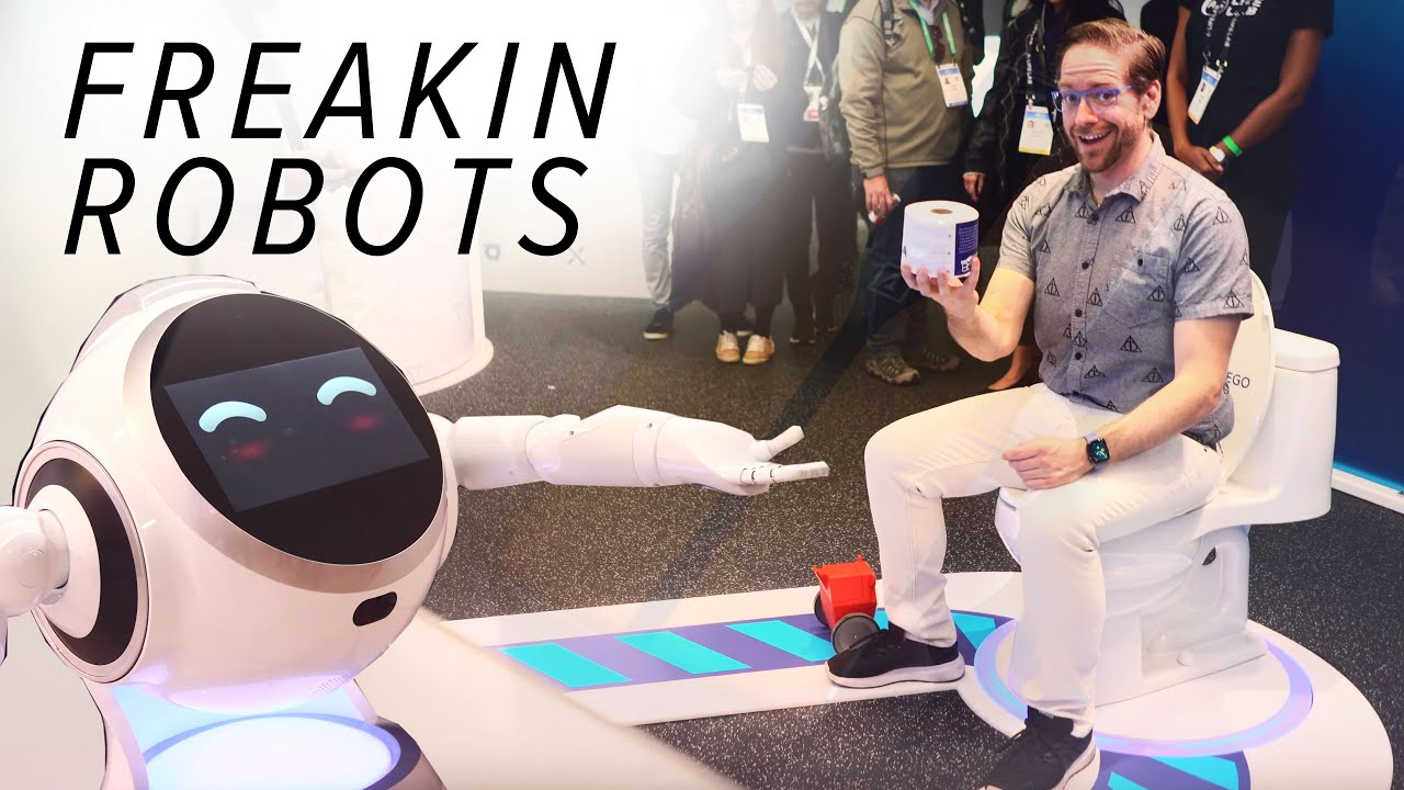 The weird and wonderful world of robots at CES 2020