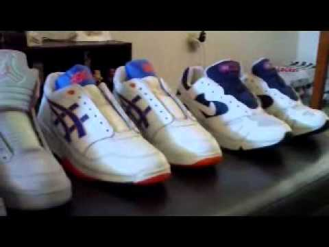 MY SNEAKER COLLECTION: 80's/90's VINTAGE NIKE REEBOK ASICS & JORDAN 5 RETRO