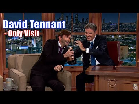 David Tennant - Has A Contagious Laugh - His Only Appearance [720p]