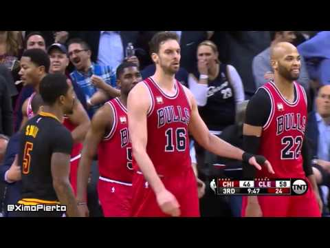 Chicago Bulls vs Cleveland Cavaliers - Full Game Highlights | February 18, 2016 | NBA 2015-16 Season