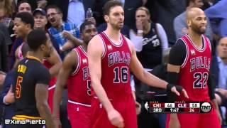 Chicago Bulls vs Cleveland Cavaliers - Full Game Highlights | February 18, 2016 | NBA 2015-16 Season