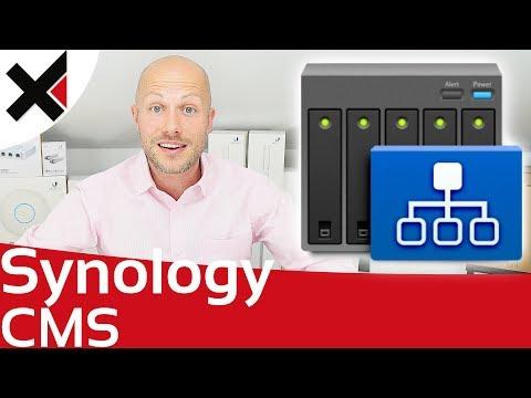 Zentrale Verwaltung von Synology DiskStation mit CMS | iDomiX