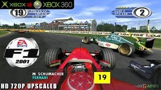 F1 2001 - Gameplay Xbox HD 720P (Xbox to Xbox 360)