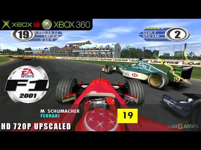 F1 2001 - Gameplay Xbox HD 720P (Xbox to Xbox 360)