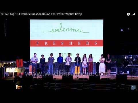 Top 10 fresher's Q & A round: Tangkhul fresher's meet 2017