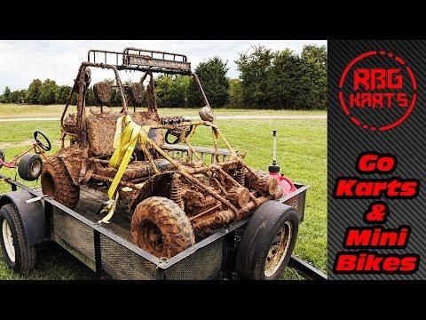 Getting Dirty & Meeting Fans ~ 2018 RBG Go Kart & Mini Bike Meet Up