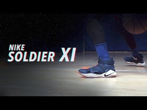 1a5d4067 Обзор кроссовок Nike LeBron Soldier 11 - ЛеБрон одобряет! - YouTube
