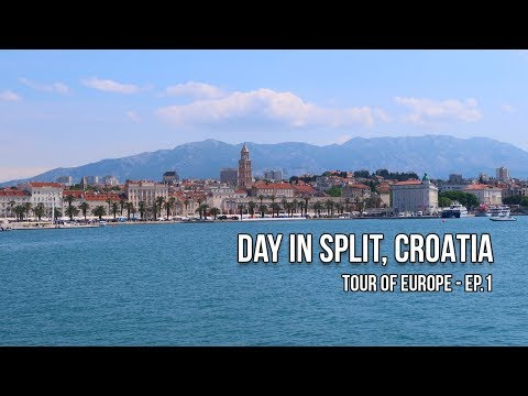 Day in Split, Croatia / Tour of Europe: Travel Vlog Ep.1