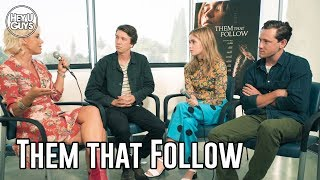 Them That Follow Interviews - Walton Goggins, Alice Englert, Thomas Mann