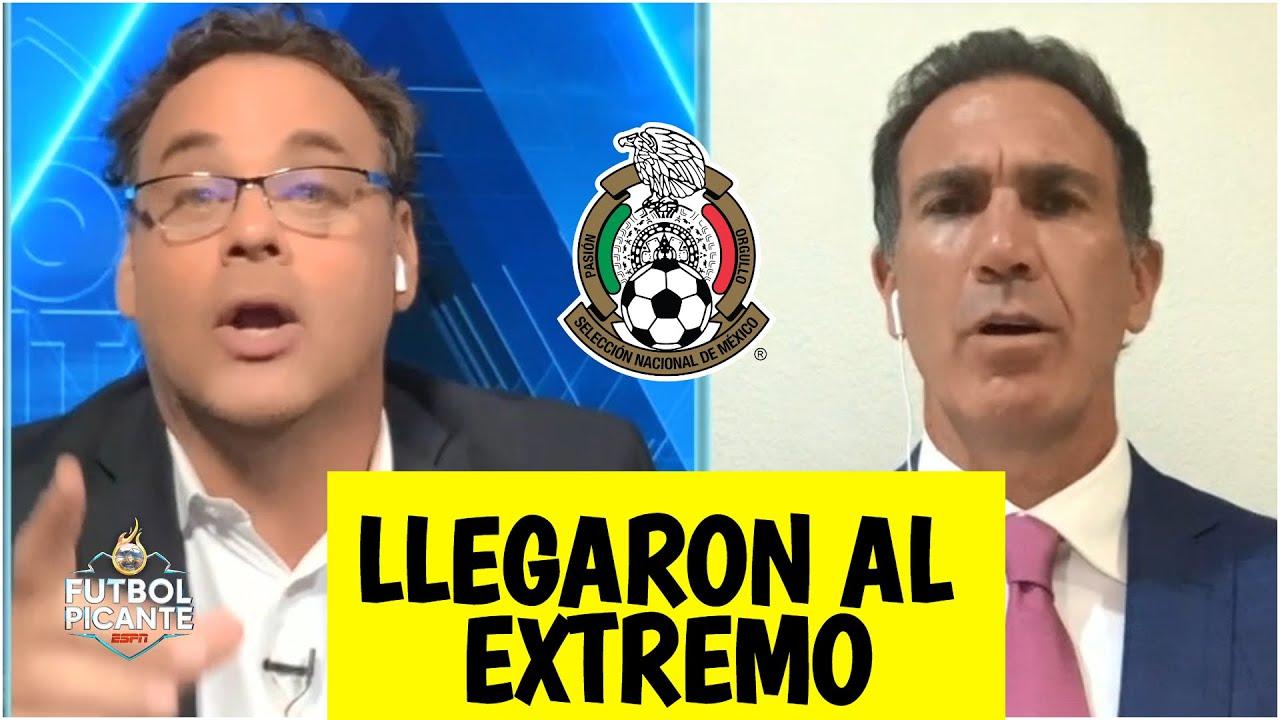 CALIENTE Faitelson y José Ramón SE CRUZARON contra Paco Gabriel de Anda por México   Futbol Picante