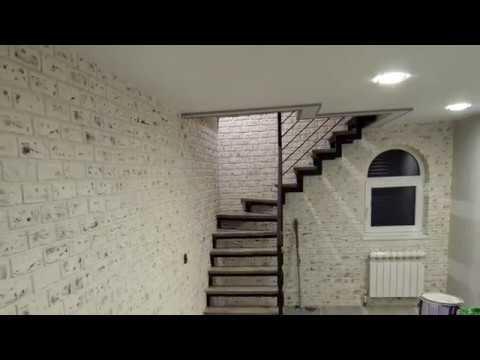 Борт перекрытия у лестницы