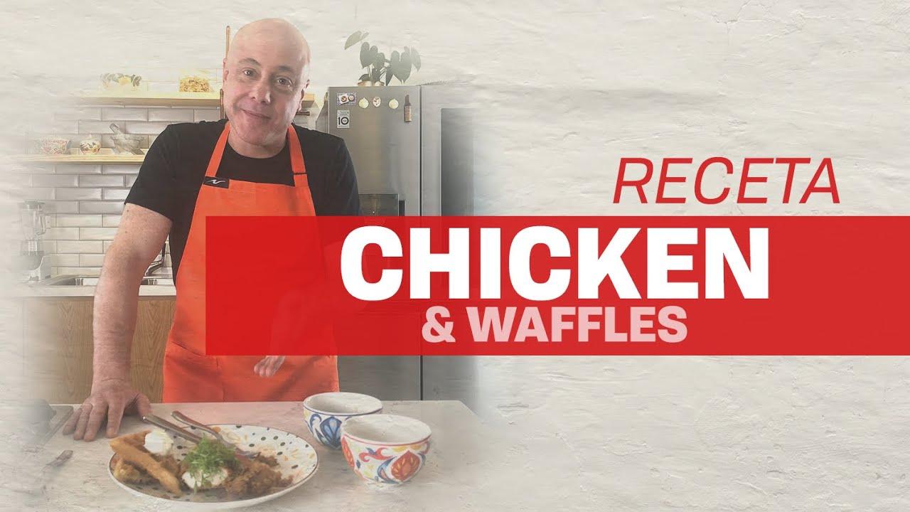 Receta de Pollo y Waffles / Chicken & Waffles l Jorge Rausch