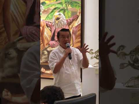 Art Critic Cid Reyes Speech at the UpDate Art Anton Exhibit