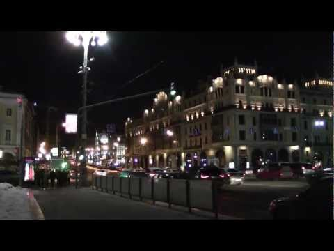 Theatre Square. Moscow.
