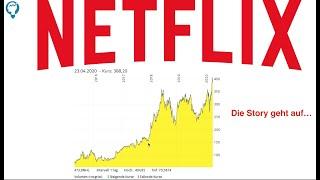 Netflix aktie jetzt kaufen? warum immer mehr geld verdient