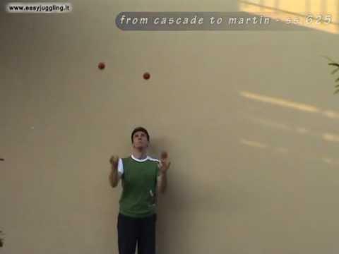 Juggling tutorial: 5 ball martin