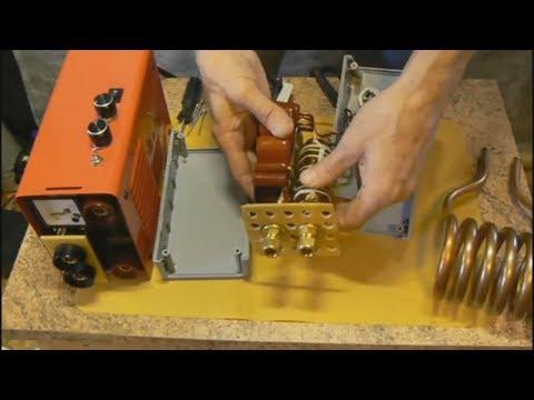 СВАРКА + ИНДУКЦИОННЫЙ НАГРЕВАТЕЛЬ.  ПОДРОБНО. Как сделать. Универсальный инструмент для мастерской.
