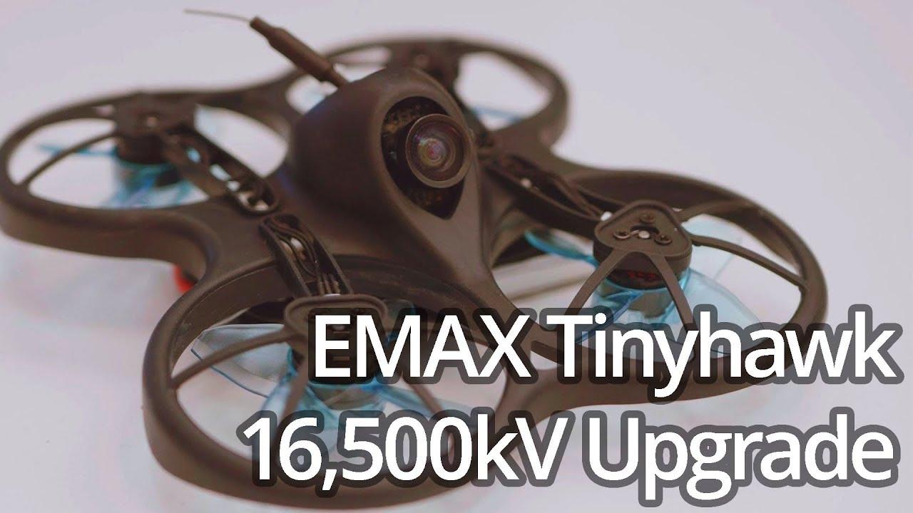 EMAX Tinyhawk 16,500kV Motor Upgrade: Worth it?