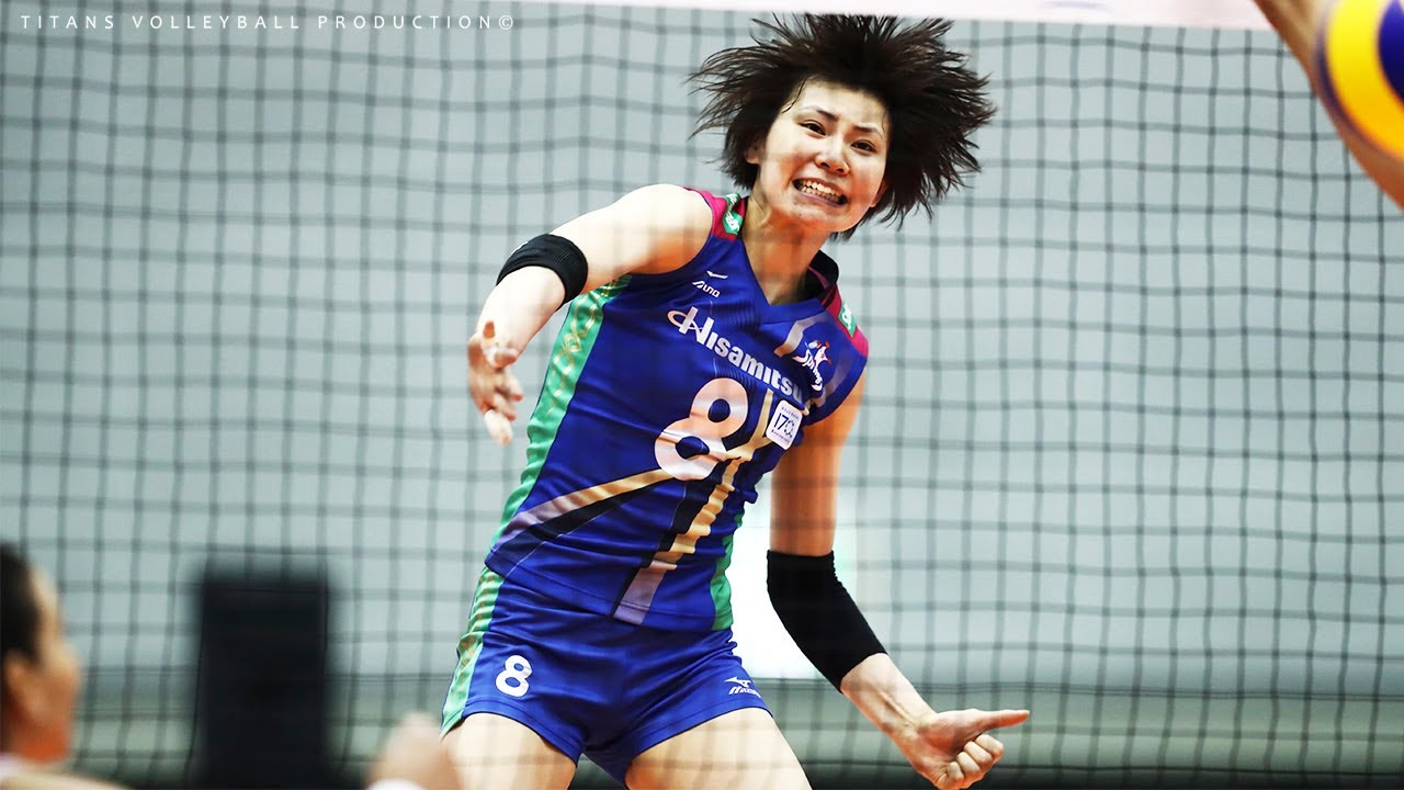 Top 10 Crazy Volleyball Action by Rika Nomoto (野本理化) | 2017 Women's World Grand Championship