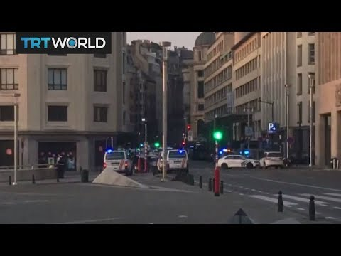 Breaking News: Explosion at Brussels central station