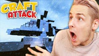 MEGA Helikopter auf meiner FETTEN Minecraft Villa! | Craft Attack 5