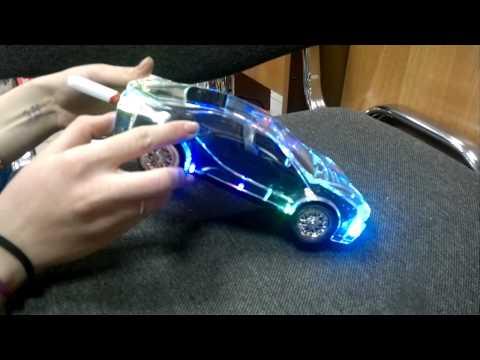 Колонка MP3 с Флешкой USB. Cristal car speaker WS525. MRM-Power