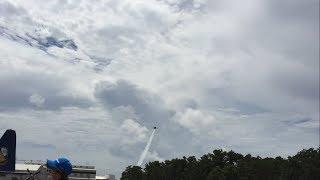 Blue Angels Sneak pass Pensacola NAS