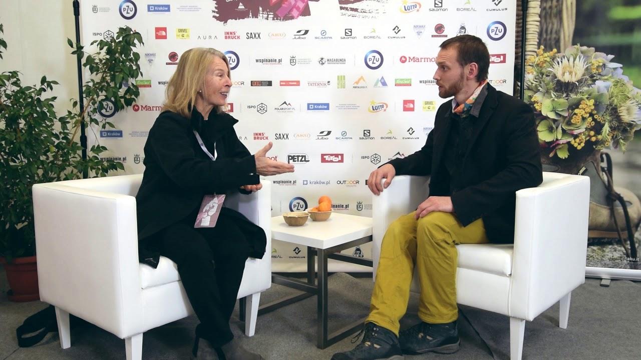 Bernadette McDonald -  interview Krakowski Festiwal Górski 2018