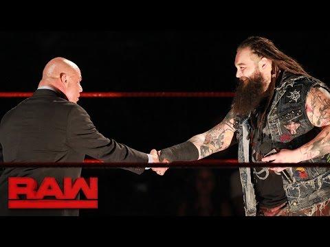 Bray Wyatt introduces himself to Kurt Angle: Raw, May 1, 2017