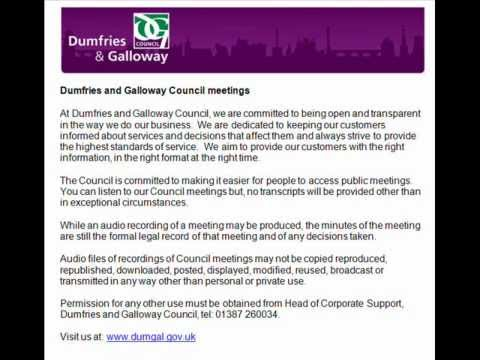 Audio of Planning, Housing and Environment Services Committee 18 October 2012