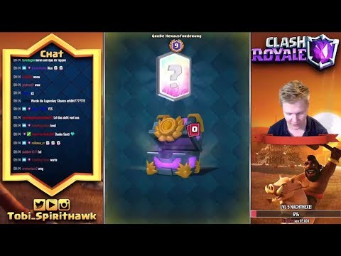 OMG NEUE LEGENDARY CARD ANIMATION! | 3 LEGENDARIES IN 2 H! | CLASH ROYALE HACK!? | CR DEUTSCH GERMAN