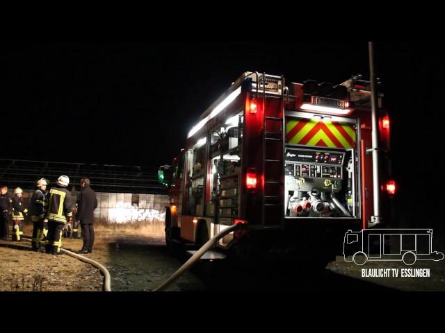 Weilheim an der Teck (ES): Feuer in ehemaliger Gärtnerei