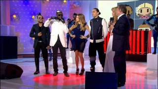The Black eyed peas  Don't stop the party  HD + interview (France 2)