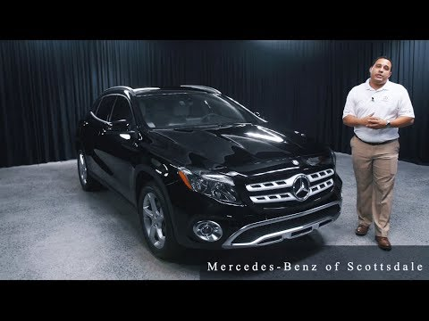 The NEW 2018 Mercedes Benz GLA 250 from Mercedes Benz of Scottsdale