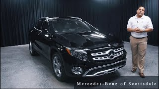The NEW 2018 Mercedes-Benz GLA 250 from Mercedes Benz of Scottsdale