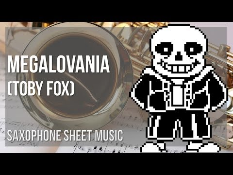 EASY Alto Sax Sheet Music: How To Play Megalovania By Toby Fox