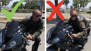 How To Get Your Knee Down On A Sport Bike! ~ MotoJitsu