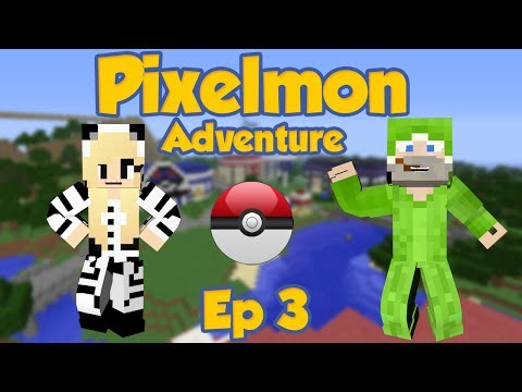 Pixelmon Adventure | NEW STARTERS | W/Sandy Ep 3