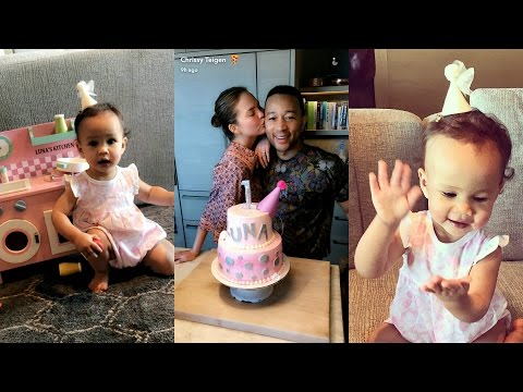 Chrissy Teigen & John Legend's Daughter Luna First Birthday Mp3