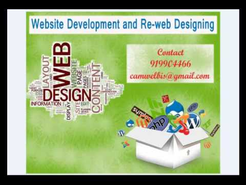 Advance Website Development and Re-web Designing | camwel.com